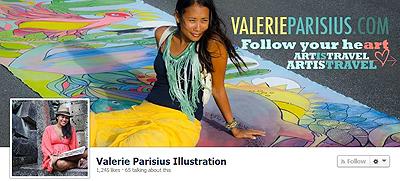 Giveaway FB Valerie Parisus