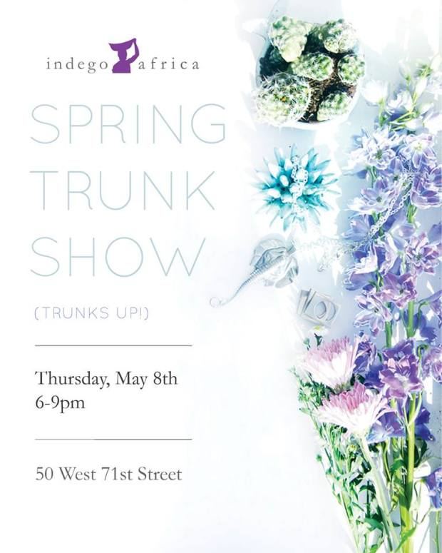 Trunk Show May 8 2014