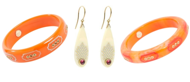 aurumeve orange cream mark davis jewelry